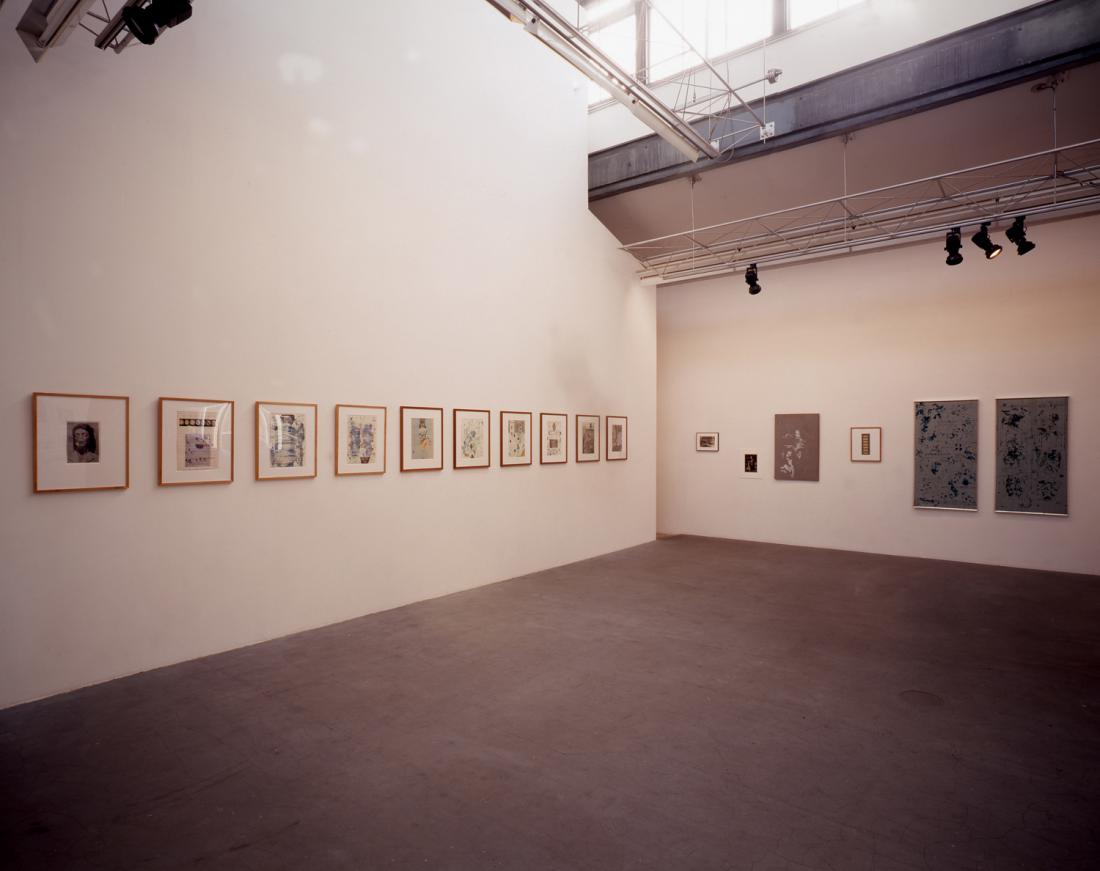 "Solo Exhibition at the gallery in 2001,  ""Over the boarder / Surrealism next door """
