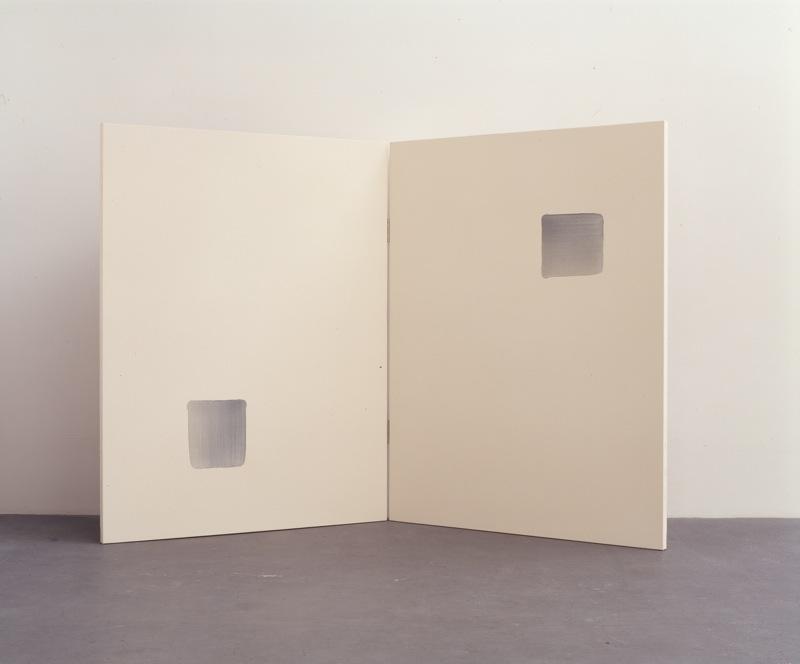 """Correspondance"", 1999, 145 x 224 cm, oil on canvas"