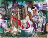 """Universal Frantic Love"", 1991, 181.7 x 227.3 cm, acrylic, canvas"
