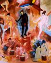 """Tango - Yu - Tango"", 2004,  227.3 x 181.8 cm, oil on canvas"