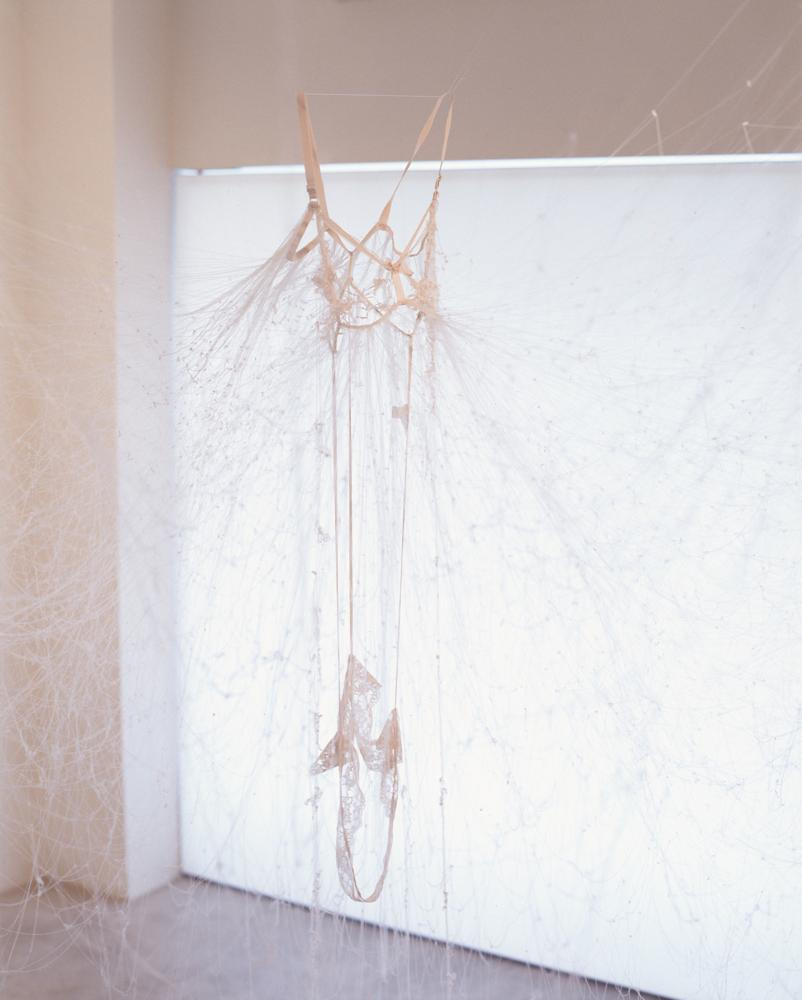 """ Untitled - slip - "" , 2007, dimensions variable, material : slip"