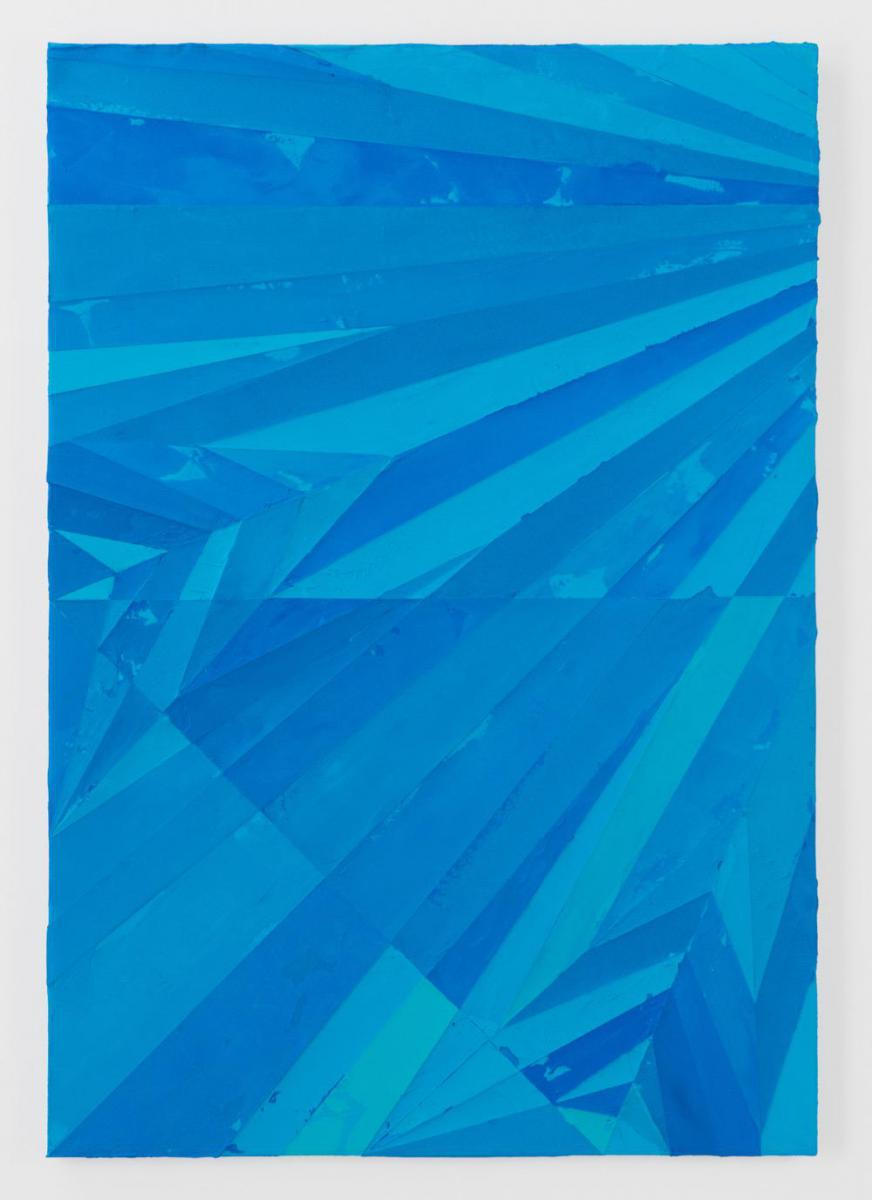 「Plane_Lancer」、2013、アクリル、メディウム、162 x 112 x 4.5 cm