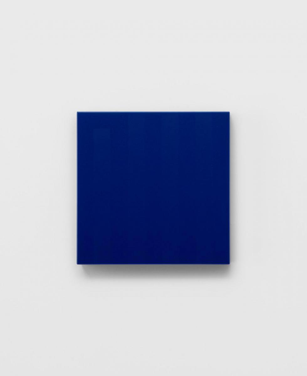 """""""inside/001"""", 2015, 33 x 33 x 5 cm, MDF, urethane coat"""