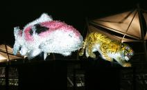 """PixCell-Sacred Beast"" 2005 photo : Toru Yokota courtesy of SPIRAL / Wacoal Art Center"