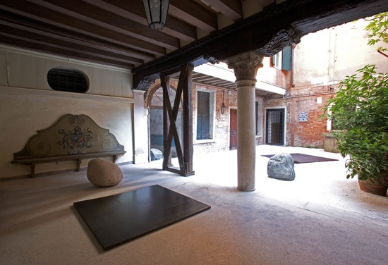 """""""Resonance"""" exhibition view, 2007, 52th Venice Biennale, Palazzo Palumbo Fossati, Venice, Italy© Fondazione Mudima Milano"""