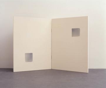 「Correspondance」、2002年、145.5 x 224.4 cm、キャンバスに油彩