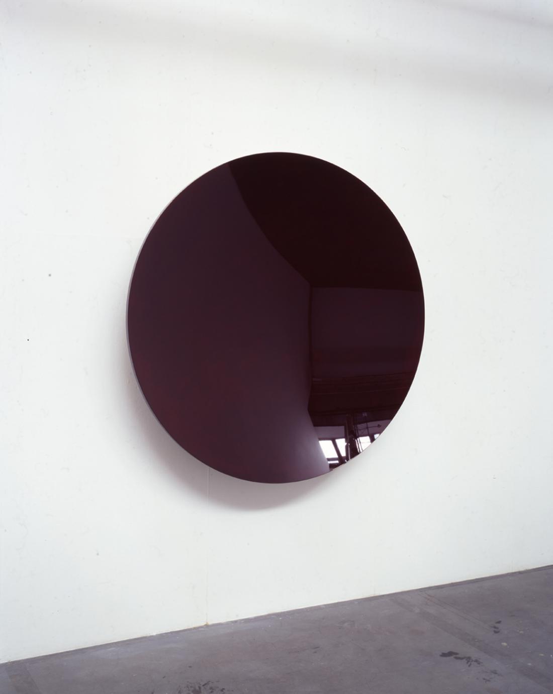 """Circular Lacquer Dish (Deep Red)"", 2005, diam. 150 x d.20 cm, 木・漆"
