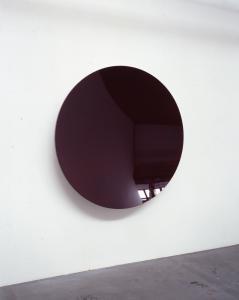 """Circular Lacquer Dish (Deep Red)"", 2005, diam. 150 x d.20 cm"