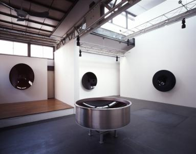 """Japanese Mirrors"" exhibition view, 2005, at SCAI THE BATHHOUSE"