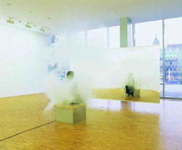 """Smoking Bench"", 2003, Courtesy Johann Koenig, Berlin"