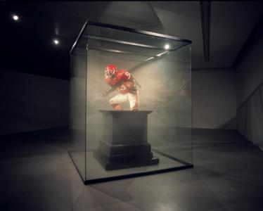 """Player 13"", 2007, Installation view at Arario Gallery, Korea"