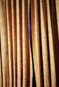 Untitled (Curtains, Slit, Norman Petty Studio, New Mexico), 2004, Pigment print 71.1 x 55.9 cm, © Eggleston Artistic Trust. Courtesy Cheim & Read, New York