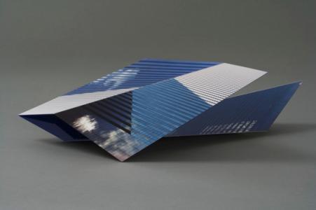 "Katsuhiro Saiki""Study for Metropolis #8"", 2007, c-prints, plexiglas wood acrylic, 19.7 x 64.8 x 22.9 cm"