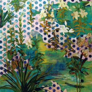 """""""Flow"""", 2007, h.145 x w.145 cm"""