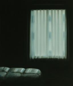 """Businesshotel"", 2008, oil on canvas, 140 x 120 cm"