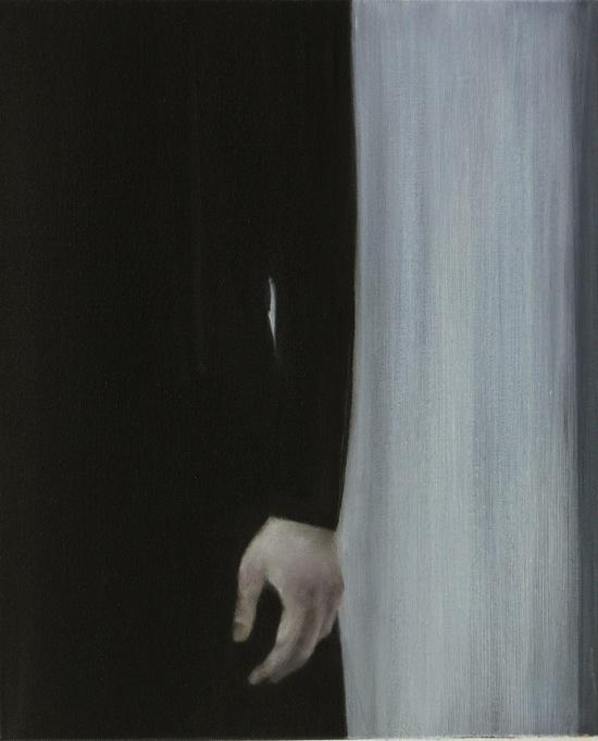 """Hand"", 2008, oil on canvas, 55 x 45 cm"