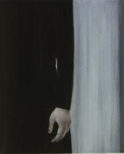 """Hand"", 2008, oil on canvas, 55 x 45 cm"