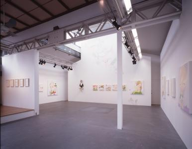 """Installation view """"PARFAIT"""" at SCAI THE BATHHOUSE, 2004"""