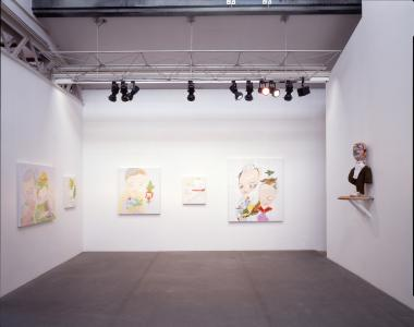 "Installation view ""PARFAIT"" at SCAI THE BATHHOUSE, 2004"