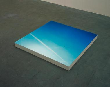 """Place #7"", 2002, 18 x 120 x 120 cm, C-print, Plexiglas, Plywood, Paint, Edition of 3"
