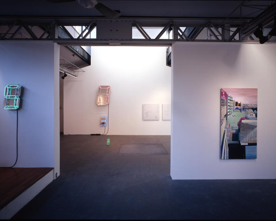 """Installation view """"WINTER SHOW"""" at SCAI THE BATHHOUSE, 2004"""