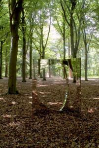 "Jeppe Hein ""3-Dimensional Circle"", 2007, Mixed Media, 200 x 140 x 140 cm"