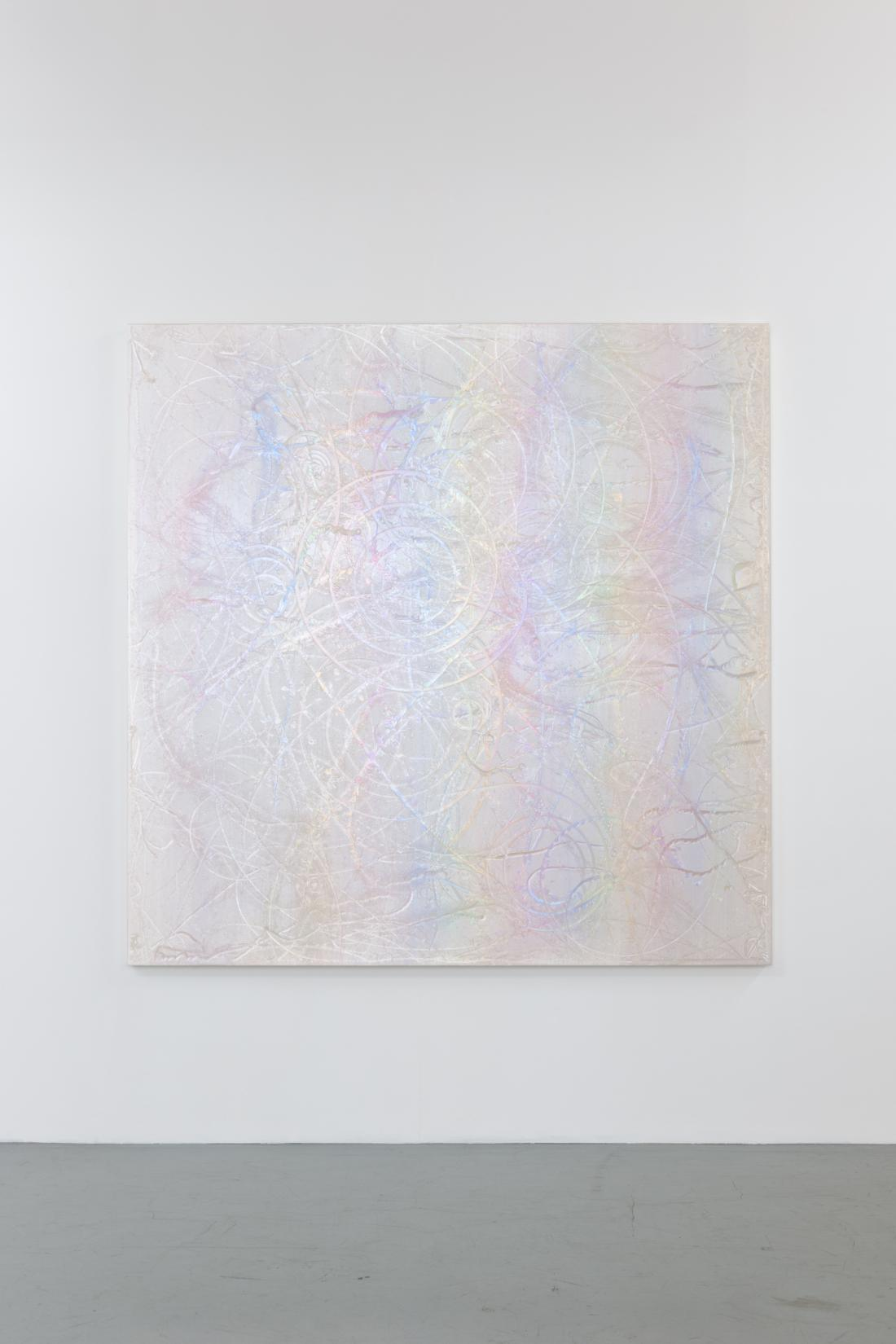 """THE BATTLE STAGE"", 2012, 180 x 180 cm, acrylic on cotton, photo : Nobutada OMOTE|SANDWICH"
