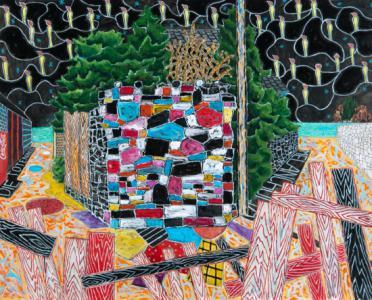 「メランコリア」、 2012、キャンバスにアクリル、130.3 × 162.1 cm