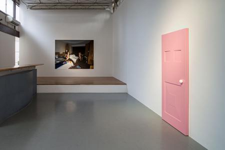 "He Xiangyu ""Crossed Beliefs"" 2013, SCAI THE BATHHOUSE photo by Nobutada Omote"