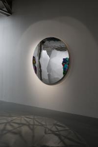 """小牟田悠介 """"Color Unfolds"""" 2013, SCAI THE BATHHOUSE photo by Nobutada Omote"""