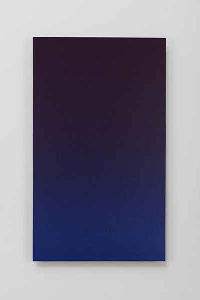 <i>pilot,</i> 2015, acrylic on cotton and panel, 92x 54.5 cm