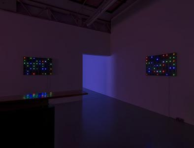 "Tatsuo Miyajima ""LIFE I-model"" 2012, SCAI THE BATHHOUSE photo by Nobutada Omote"