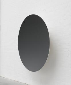 Monochrome (Garnet), 2015, Fibreglass and paint, 188 x 188 x 39 cm