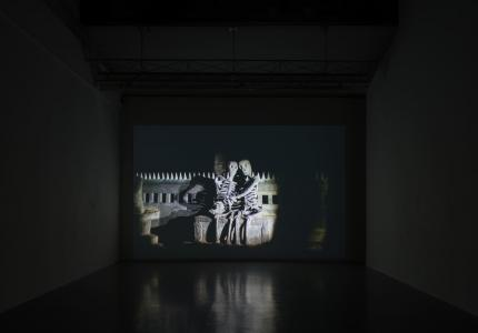 "Apichatpong WEERASETHAKUL ""FIREWORKS (ARCHIVES)"" 2014, SCAI THE BATHHOUSE photo by : Nobutada Omote"