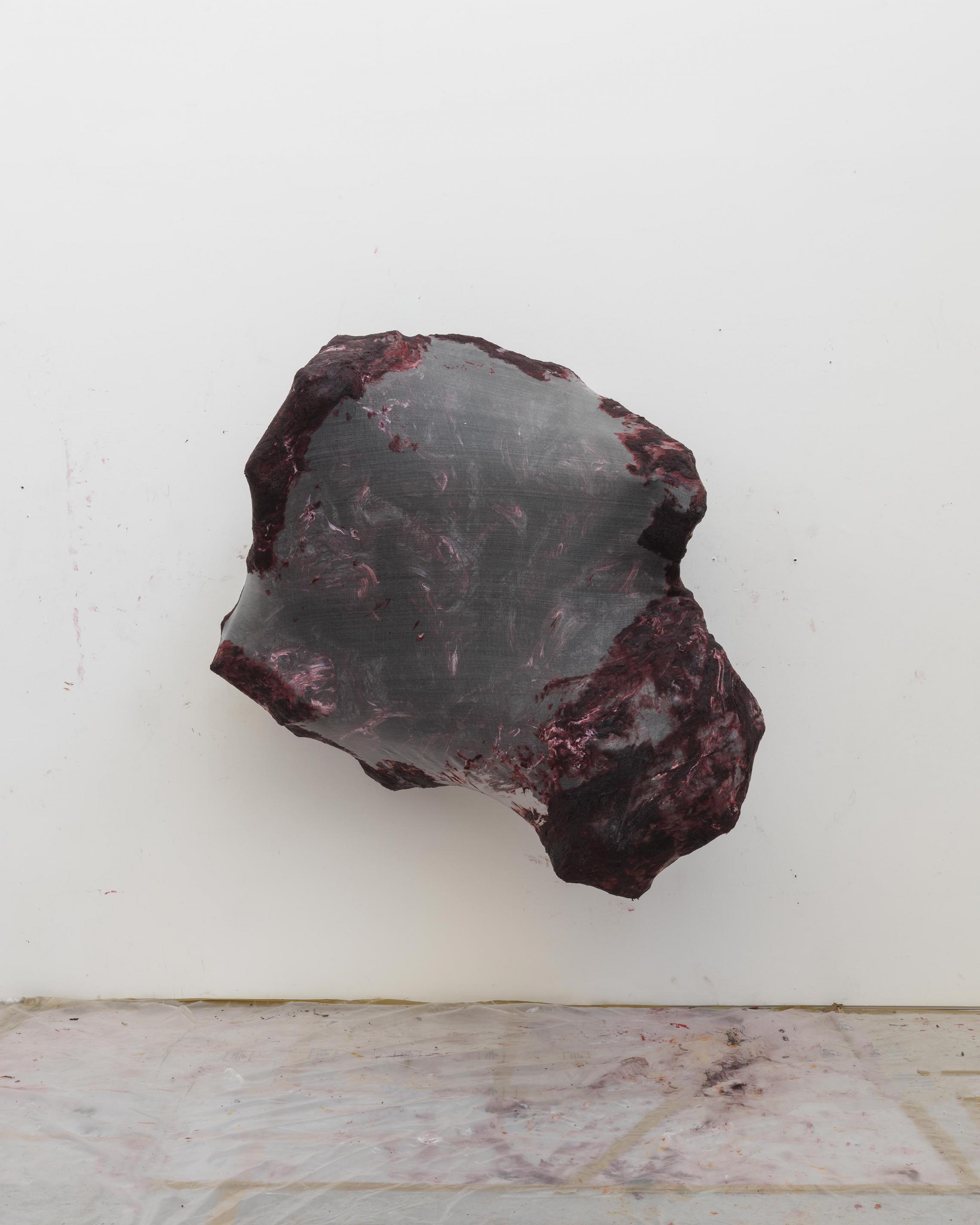 Anish KapoorUntitled 2016 Silicone, fiberglass and gauze169 × 162 × 117 cm