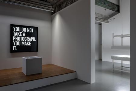 "Alfredo Jaar ""Lament of the Images"" 2019, SCAI THE BATHHOUSE photo by Nobutada Omote"