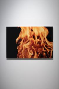 "Jeppe Hein, ""Waterflame (photo edition)"", 2006, C-print on aludibond, 60 x 90 (cm) photo by Nobutada Omote"
