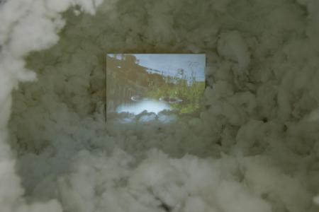 《ハローアストロ》(部分)、2018年、ミクストメディア、120x 85 x 90 (cm) 撮影: 表恒匡