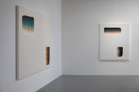 """李 禹煥 """"絵画展"""" 2020, SCAI THE BATHHOUSE photo by Nobutada Omote"""