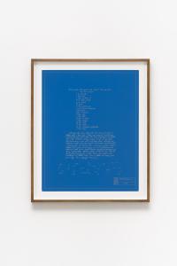 "Shusaku Arakawa, ""RECIPE (TASTE IT)"", 1968, Color silkscreen on paper, 88 x 73 x 4(cm) photo by Nobutada Omote"