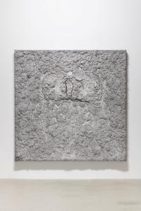 "Bosco Sodi, ""Untitled"", 2013, Mixed media over canvas, 186 x 186 x 15 (cm) photo by Nobutada Omote"