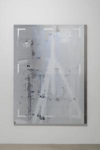 """Nathan Hylden, """"untitled"""", 2014, Acrylic on aluminum, 196.9 x 144.8 (cm) photo by Nobutada Omote"""