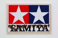 """Takashi Murakami """"Signboard TAMIYA"""", 1991, h.51.2 x w.75.5 cm"""