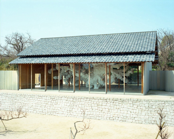 SCAI THE BATHHOUSE | Projects | Kohei Nawa 'F Art House